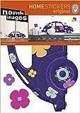 1art1 49936 Autos - VW Käfer, Lyonel Maillot Wand-Tatoos Aufkleber Poster-Sticker 70 x 50 cm