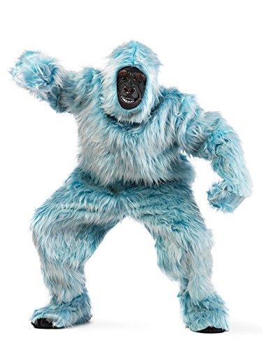 Yeti Gorilla Deluxe Kostüm hellblau L