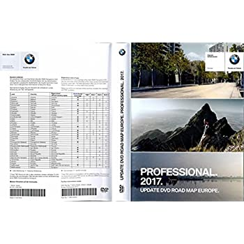 bmw navi update professional 2018 dvd road map europe. Black Bedroom Furniture Sets. Home Design Ideas