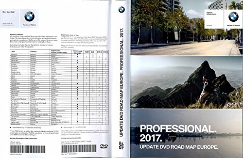 BMW-CCC-Professional-2017-Navigation-3-x-DVD-Mise--jourVersion-complte-pour-Road-Map-West--LEurope-Pices-NR-65-90-2-448-200
