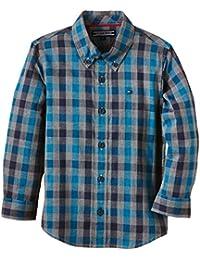 Calvin Klein Mayor Check Shirt L/S - camisa de pijama para bebé