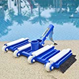Sarrah and sons Professional Flexible Weighted Brush Swimming Vacuum Head Cleaner Spa Pool