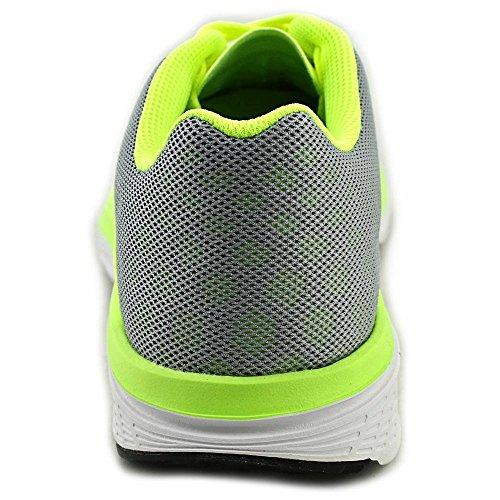 Nike Herren FS Lite Run 3 Laufschuhe, Talla Gris / Negro / Lima / Azul (Wolf Grey/Black-Volt-Bl Lagoon)