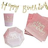 37 Teile Dekorations-Set Geburtstags-Party