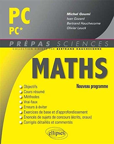 Maths PC/PC* Programme 2014