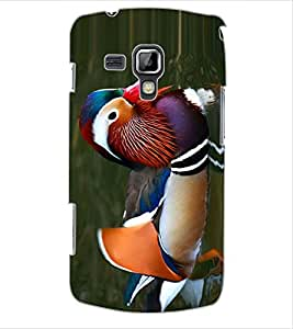 ColourCraft Beautiful Duck Design Back Case Cover for SAMSUNG GALAXY S DUOS 2 S7582