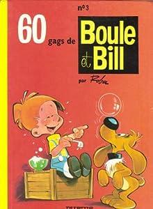 """Afficher """"Boule et Bill n° 3 60 gags de Boule et Bill. (3)"""""""
