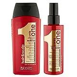 Revlon uniq one Duo Pack <p>Revlon uniq one Conditioning Shampoo 300 ml + Revlon uniq one all in one hair treatment 150 ml</p>
