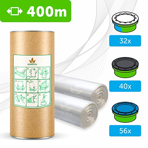 400 M - ECO Recarga compatible Sangenic Tommee Tippee