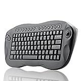 BW Wireless Keyboard with Trackball - QWERTY, Internet + Media Hotkeys, PC +