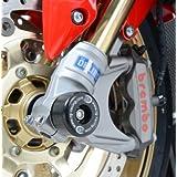 Protection patin tampon de fourche R&G moto Honda CBR 1000 RR 2014-2015 FP0153BK