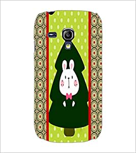PrintDhaba Bunny D-3815 Back Case Cover for SAMSUNG GALAXY S3 MINI (Multi-Coloured)