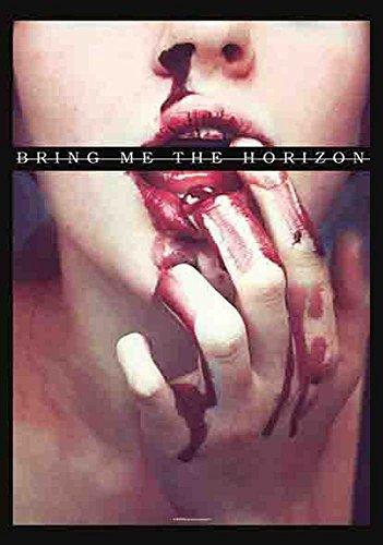 Bring Me The Horizon-Blood Lust-Poster Bandiera 100% poliestere-75x 110cm
