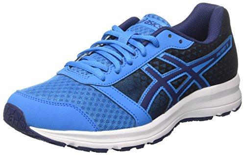 ASICS  Patriot 8 T619N4549, Zapatillas de Running para Hombre, Azul (Imperial/Indigo Blue/White), 44 EU
