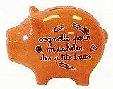 DECO ET DES MOTS - TIRELIRE COCHON - Cagnotte pour m'acheter des p'tits trucs
