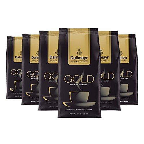Dallmayr Vending & Office Gold Spezial, gemahlen, 500g, 6er Pack