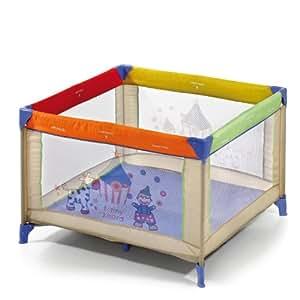 hauck 606889 reisebett dream 39 n play sq 96x96x cm circus. Black Bedroom Furniture Sets. Home Design Ideas
