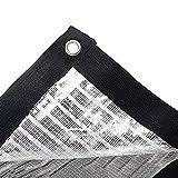 Filet d'ombrage 75% de tissu d'ombrage d'écran solaire avec des œillets, filet...