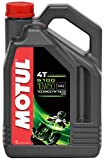 Motul 104076 5100 4T Huile pour moto à moteur 4 temps 10W-50 4 L