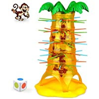 HOT Falling Tumbling Monkey Family Toy ♣♣Tefamore 2018 Newest Climbing Board Game Kids|Anxiety Release| High Quality | Birthday Party gift