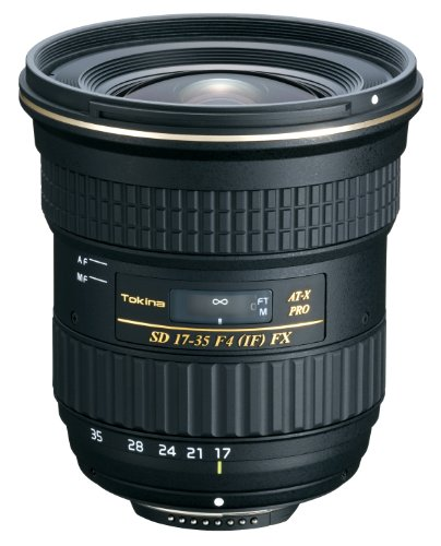 Tokina At-x17-35 F4 Pro Fx Zoom Lens For Canon Dslr Camera