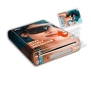 atFoliX Personalisierbare Nintendo Wii U Designfolie – gestalte deinen Skin Aufkleber im Custom-Konfigurator einfach selbst
