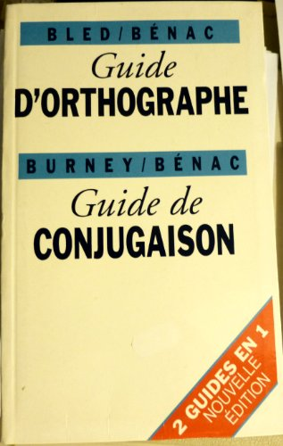 Guide d'orthographe et de conjugaison