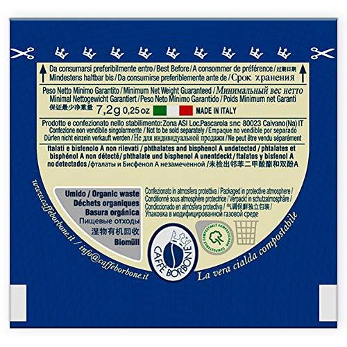 Caffè Borbone Cialde Miscela Blu - Confezione da 100 Pezzi Cialde - Compatibile E.S.E.® dm 44