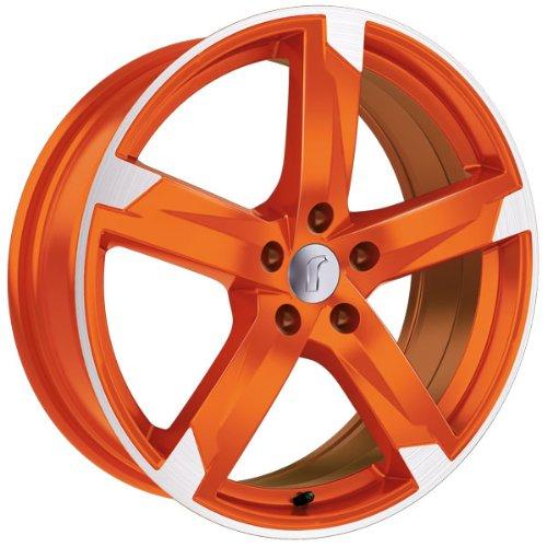 1 x Rondell Z Design 01RZ in 8,0 x 18 ET 33 LZ/LK 5 x 120 Farbe Racing Orange, poliert für BMW 3er-Compact Typ 346K