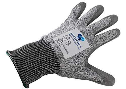 PROTECTORE Arbeitshandschuhe Schnittschutzhandschuhe Handschuhe - cupropa - schwarz - Größe 9