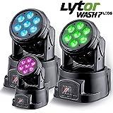 Scheinwerfer lytor wash7LEDs DMX RGB 4W + Weiß pack 3–DMX-512(7oder 12Kanäle)