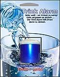 Trink Alarm blau