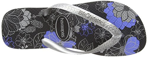 Havaianas Spring, Infradito Unisex-adulto (Multicolor (Metallic Black/Copper))