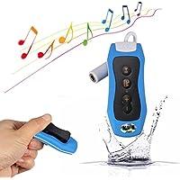 Y&M, wasserdichter MP3-Player, 100 % wasserdicht bei IPX8,8GB, mit UKW-Radio, für Schwimmen / Tauchen / Sport