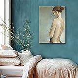 HUA Mujer pintado a mano pintura al óleo, cuadros decorativos, decorativa pintura sala de estudio...