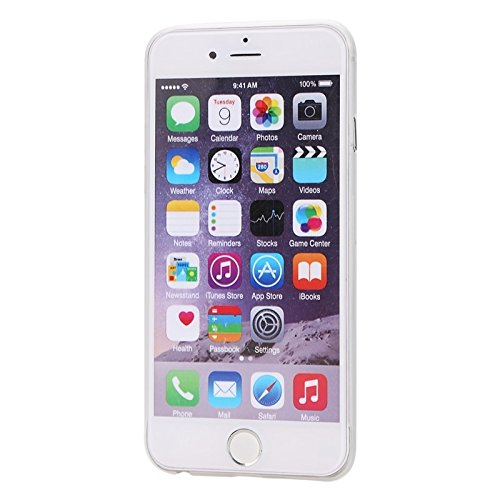Phone case & Hülle Für iPhone 6 & 6S Ultrathin Kamera Schutz Design Translucence PP Fall ( Color : White ) White