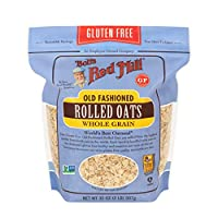 ‏‪Bobs Red Mill Gluten Free Rolled Oats,907gms- (Pack of 1)‬‏