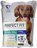 Perfect Fit Hundefutter Trockenfutter Senior für ältere Hunde unter 10 kg mit Huhn 10+  (4 x 1,4 kg)