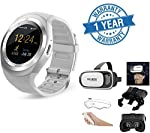 This watch has two working mode.One is company mode(Bluetooth), It enable to make call or receive call or send or get message via Bluetooth.The other one is Network mode(Sim Card inserted) It enable to make call or receive call and send or get messag...