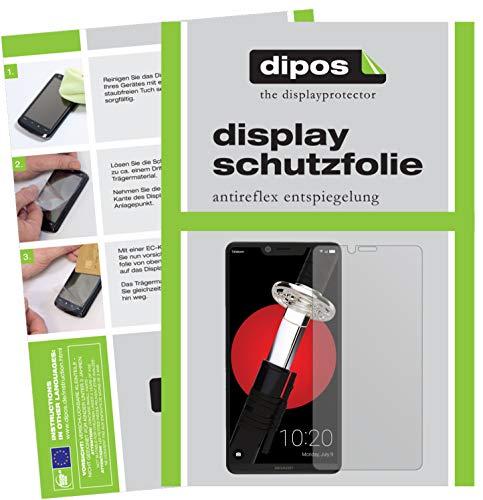 dipos I 2X Schutzfolie matt passend für Sharp Aquos D10 Folie Bildschirmschutzfolie