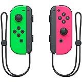 Nintendo 250037 Joy Con Paar Controleur, Neon Groen/Neon Roze (Nintendo Switch)