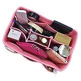 HyFanStr Organizer bag Borsa in borsa Organizzatore Cosmetics bag organizer per donna Rosa M