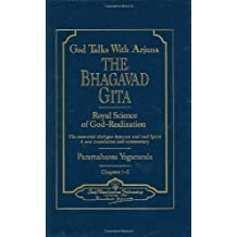 God Talks with Arjuna: The Bhagavad Gita (2 vol's) 2nd edition by Yogananda. Paramahansa published by Self-Realization Fellowship Hardcover