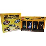 Lego LEGO THE BATMAN MOVIE Limited Edition Exclusively At ToysRus Budman The Movie Minifig 4 Pieces Toys 'R Us' Limited Set