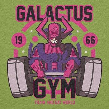 Texlab–Galactus Gym–sacchetto di stoffa Verde chiaro