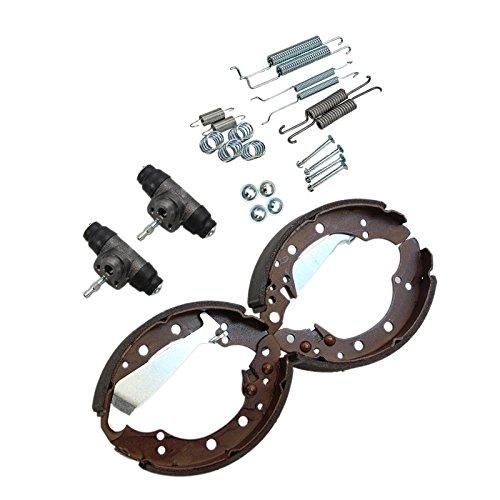 4x Bremsbacken + 2x Radbremszylinder + Zubehör