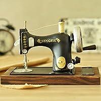 Vintage Decoresd antiguo modelo de máquina de coser Home Furnishing Bar Decoraciones decoración fotografía Tienda de