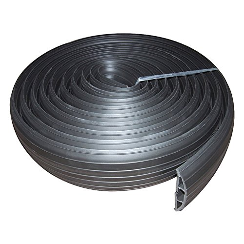 kenable-black-rubber-floor-cable-protector-19-x-95mm-inner-channel-3m-9ft