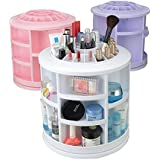 Egab 360 Rotating Makeup Organizer Jewelry Storage Box - Assorted Color Will Be Send