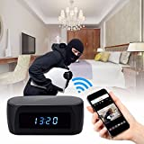 Best Baby Monitor Wifi Video Monitor & Internet Viewing Systems - Wireless Clock 1080P IP Camera WIFI Clock Network Review